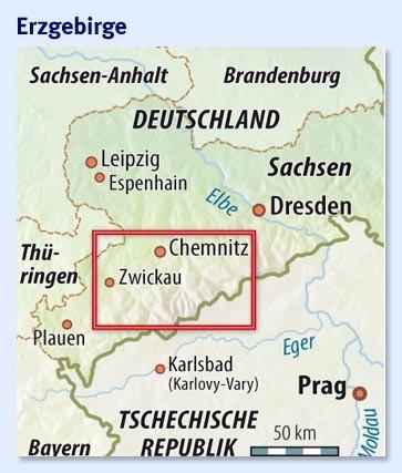 Bergbau Erzgebirge Karte.Bilderstrecke Zu Millionen Fur Den Bergbau Sachsen Im