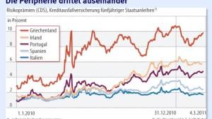 Die wachsende Teilung der Euro-Peripherie