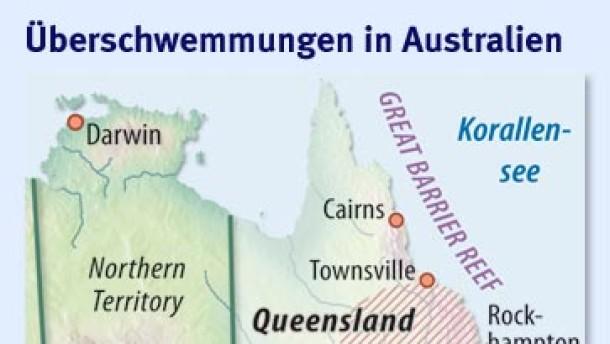 Die Fluten in Queensland treiben die Preise