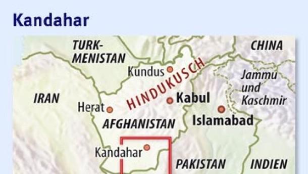 Karte / Kandahar