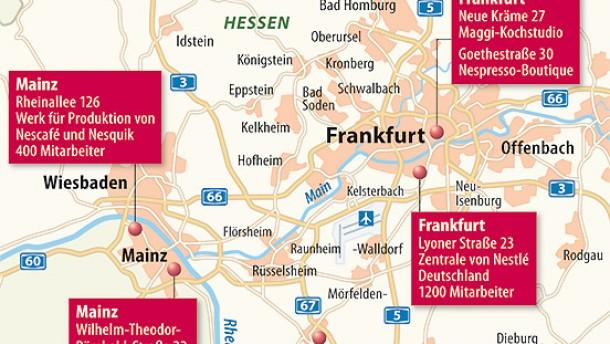 Von Frankfurt nach Vevey