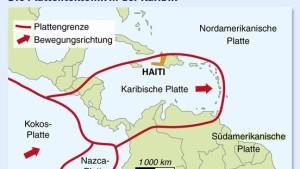 Erdbebenzone Mittelamerika