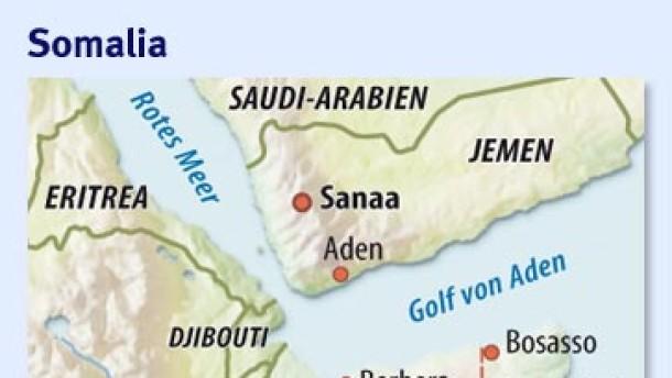 Deutsches Schiff vor Somalia gekapert