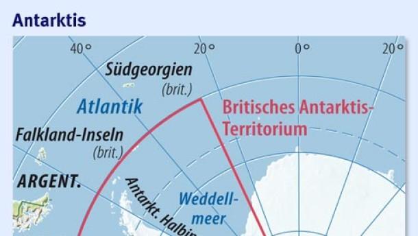 Londons Kampf um den Südpol
