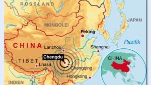 China stoppt Öl- und Kohleförderung in Sichuan