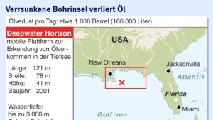 BP und Transocean können Ölaustritt nicht stoppen
