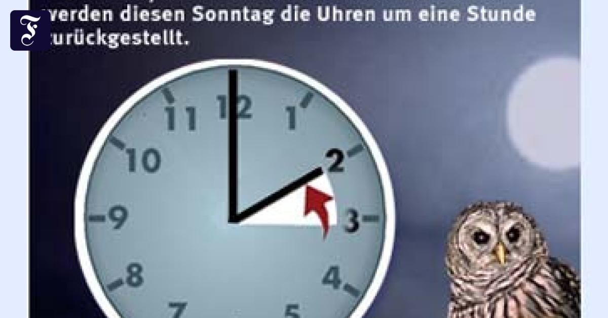 Zeit Umstellung