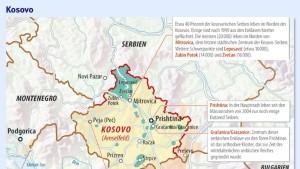 Russland erwägt Spaltung des Kosovos