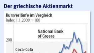Griechische Aktienkurse erholen sich