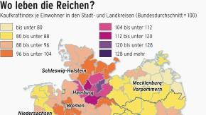 Infografik 882 / Wo leben die Reichen / NEU
