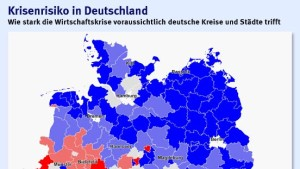 Bayern vorn, Osten hinten, der Süden bedroht