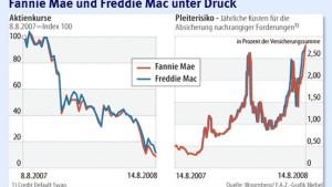 Sturmzeichen für Freddie Mac und Fannie Mae