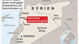 UN-Sicherheitsrat rügt Syrien