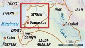 Assad lässt Latakia mit Kriegsschiffen beschießen