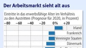 Deutschland verliert immer mehr Arbeitskräfte
