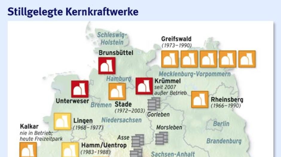 Freizeitpark Norddeutschland Karte.Zwischenlager Nord Die Angst Vor Dem Atom Wc Energiepolitik Faz